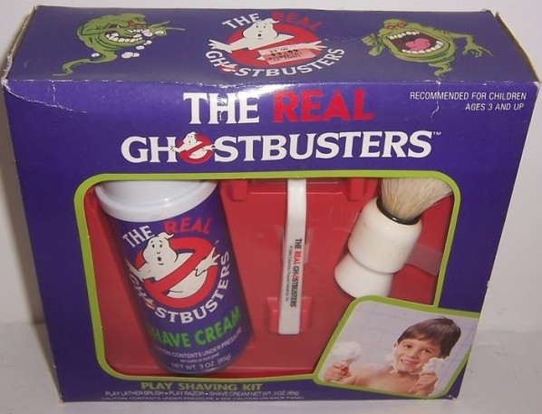 ghostbustersshaving