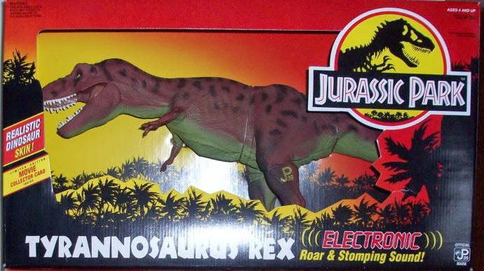 Jurassic Park Toys T Rex : Jurassic park electronic tyrannosaurus rex kenner